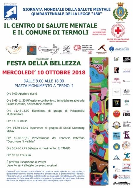 Termoli Festa della Bellezza 10 ottobre 2018